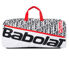 Babolat 2020 Pure Strike Tennis Duffle Bag White Racket Racquet Bag Nwt 758002
