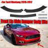 Front Bumper Chin Lip Body Kit Spoiler Splitter For Ford Mustang GT