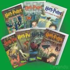 HARRY POTTER 1-7 | JOANNE K. ROWLING | Band 1+2+3+4+5+6+7 als Taschenbuch - NEU