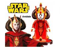 NEW STAR WARS QUEEN PADME AMIDALA  CLONE WARS MINIFIGURE USA SELLER FITS LEGO