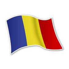 Rumänien Flagge Romania Autoaufkleber Sticker Fahne Aufkleber DRU 0079