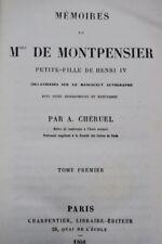 Mémoires de Mlle de Montpensier, petite-fille de Henri IV, 1868