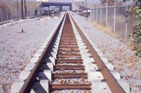 MBTA Railroad Locomotive NEPONSET MA Original 1970 Photo Slide