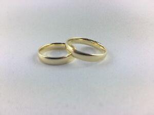 Ehering / Partnerring / Freundschaftsring 585 Gold (4 mm breit)