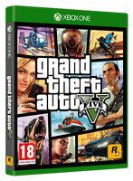 GRAND THEFT AUTO V (GTA V) XBOX ONE GAME BRAND NEW SEALED OFFICIAL PAL