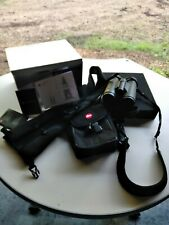 LEICA Trinovid 10 X 42 HD Hunting Binoculars with Original Neoprene Zipper Case