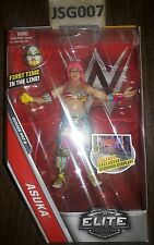 ASUKA WWE ELITE 47 A FIRST TIME FIGURE MASK NXT CHAMPION DIVAS DIORAMA PRIORITY