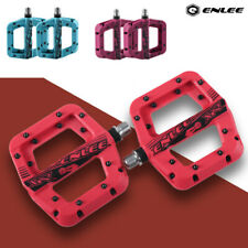 Ultralight Mountain Bike Pedals Bearings Anti-Skid nylon MTB Bicycle Flat Pedals