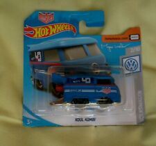 Hot wheels kool kombi Volkswagen splitscreen camper drag bus blue magnus walker