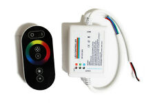 12-24V Wireless Touch Panel RF RGB Remote Controller For RGB LED Strip Light