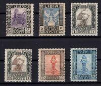 P136193/ ITALIAN LYBIA / LOT 1921 – 1929 MINT MNH CV 440 $