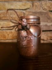 Hand decorated jars