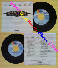 LP 45 7'' BOSTON Amanda My destination 1986 italy MCA 25 8555-7 no cd mc dvd (*)