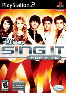 Disney Sing It: Pop Hits - Playstation 2 Game Complete