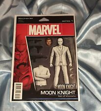 MOON KNIGHT #1~FIST OF KHONSHU ACTION FIGURE VARIANT~JEFF LEMIRE STORY~NM/NM+
