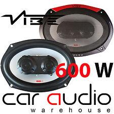 "VIBE PULSE 69 3 Way 600 Watts a Pair 6x9"" Car Van Truck Parcel Shelf Speakers"