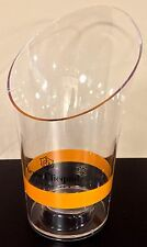 "Champagne Veuve Clicquot Ponsardin "" RICH "" Ice Bucket Acrylic Transparent NEW"