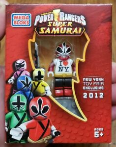 Mega Bloks Power Rangers Super Samurai New York Toy Fair Exclusive Figure MISB