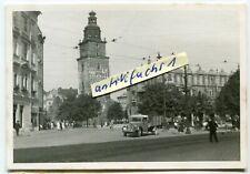 Foto : die Tuchhallen in der Stadt Krakau in Polen 1939