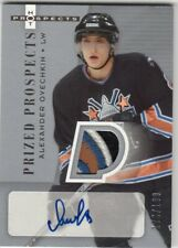 2005-06 Fleer Hot Prospects Alexander Ovechkin Patch Autograph Rookie RC SP /199