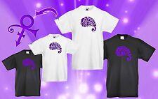 Kids Prince inspired Paisley symbol t shirt black or white