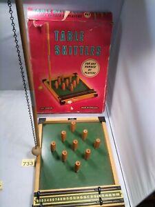 Vintage Kay Table Skittles Boxed