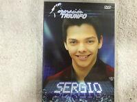 OPERACION TRIUNFO DVD SERGIO ACADEMIA ENTREVISTAS GRABACION DE DISCO GALAS FOTOS