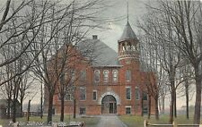 D25/ Convoy Ohio Postcard 1909 Public School Building