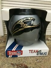 Vintage ORIGINAL LOGO Jacksonville Jaguar Helmet Mug or Can Holder RARE