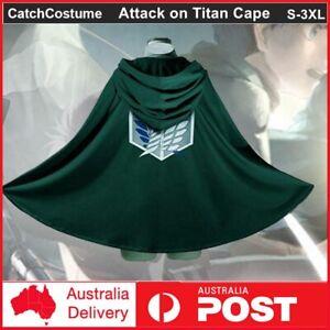 Attack on Titan Shingeki no Kyojin Scouting Legion Top Cosplay Grade Cloak Cape