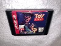 Toy Story (Sega Genesis, 1995) Disney Game Cartridge Vr Nice!