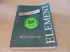 2003 Honda Element Factory Service Repair Manual OEM