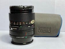 Objectif Standard KONICA Zoom-HEXANON AR (SONY - LIRE) 35-70mm f/3,5-4,5 +HOUSSE