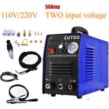 Air Inverter Plasma Cutting Machine CUT50 Dual Voltage 110/220V in USA WAREHOUSE