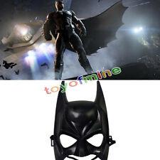 Halloween Batman MASCHERA Nera ADULTO Masquerade Festa Maschera Face Costume