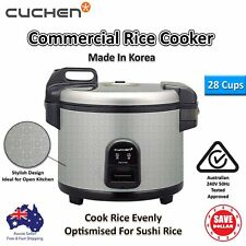 New Cuchen Rice Cooker Commercial 28 Cups CJE-C2801AU Korean Made 240V 50Hz