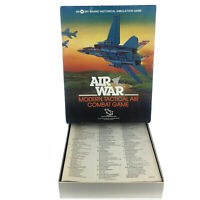 SPI - TSR 1983 : AIR WAR game - Modern Tactical Air Combat Game (UNPUNCHED)
