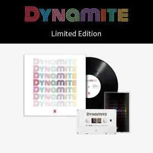 BTS Bangtan Boys Dynamite (Vinyl) + ( Cassette )   [ FREE SHIPPING ]