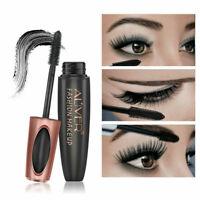 4D Silk Fiber Mascara Eyelash False Lash BLACK Mascara Waterproof Volume Make Up