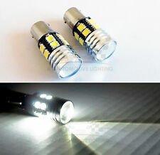 1157 Super White Cree Q5 LED Bulbs 12 SMD 5050 7W Backup Reverse Bulbs