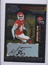 2006 CONTENDERS MARCUS MAXEY ROOKIE AUTO. CHIEFS