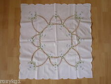 Old Tablecloth Breakthrough Crocheted? Embroidered?, Bobbin Lace ?, Approx.