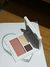 Clinique All About Shadow  Blush Trio 06 Chocolate Covered Cherry Sunset glow 07