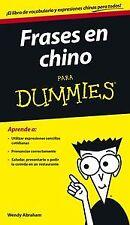 Frases en chino para dummies. NUEVO. Nacional URGENTE/Internac. económico. AUTOA