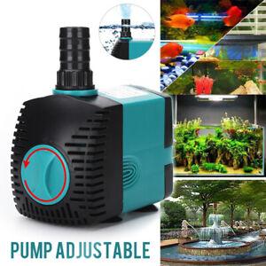 Submersible Water Pumps Fish Pond Aquarium Tanks Super Power Feature Fountain