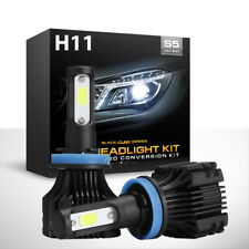 H11 H8 1000W 150000LM CREE LED Headlight Lamp Bulb Conversion Kit fog light HID