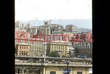 View From The Harbor Napoli Naples Italy 1954 Kodak Red Border 35mm Slide