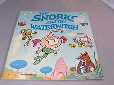 Vintage 1983 The Snorks book - The Snorks and the Waterwitch - NOS? Casey Snork
