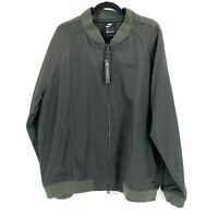 Nike Size XL Olive Green Zip Up Jacket Mens Standard Fit AR3219-355 NWT