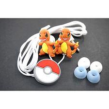 Pokemon Pikachu Charmander Headphone Headset Earphone Earbud For iPhone MP3 /4